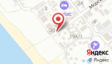 Гостевой дом Веселый Рапан на карте