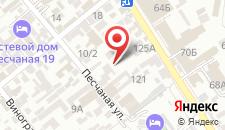 Гостевой дом Оазис на карте