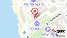 Пансионат Берег Надежды на карте