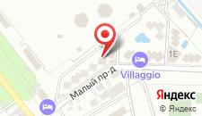 Гостиничный комплекс Солнечный на карте