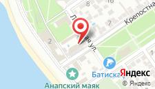 Отель Боспор на карте