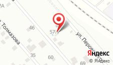 Гостевой дом Мега на карте