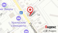 Отель Скала на карте