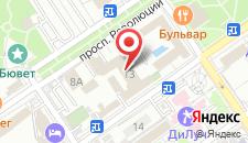 Санаторий БФО на карте
