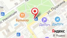 Санаторно-гостиничный комплекс ДиЛуч на карте