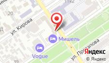 Гостевой дом Черноморье на карте