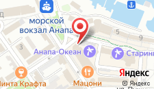 Отель Анапа-Океан на карте