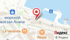 Отель Капитан на карте