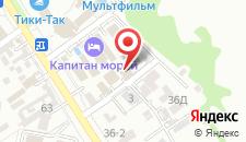 Гостевой дом Ташир на карте