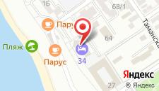 Гостиница Отель 34 на карте