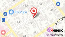 Гостевой дом На Новороссийской на карте
