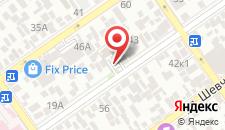 Гостиница Дуэт на карте