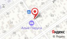 Гостиница Алые Паруса на карте