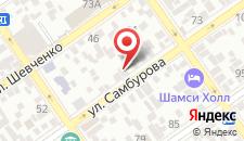 Гостиница Атриум на карте