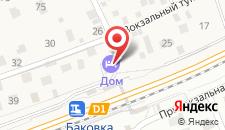 Отель Дом на карте