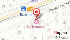 Отель Встреча на карте