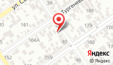 Мини-отель На Краснодарской на карте