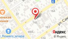 Гостевой дом на Шевченко на карте