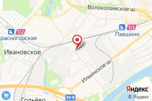 Адрес Мособлгаз Красногорскмежрайгаз на карте