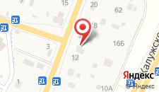 Гостиница АнРи на карте