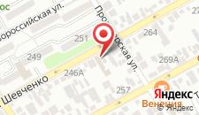 Гостевой дом Анапа-Нега на карте