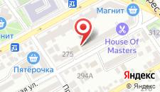 Отель Хаят на карте