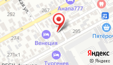 Хостел На Тургенева на карте