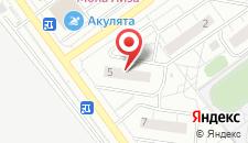Апартаменты Трехкомнатные в Красногорске на карте