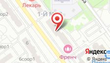 Апартаменты Yellow Rooms на Павшинском Бульваре на карте