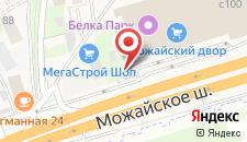 Отель СМ на карте