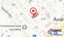 Гостевой дом Максимилиан на карте