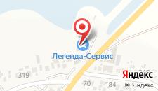 Гостевой дом На набережной на карте