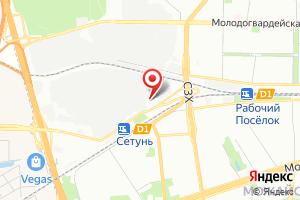 Адрес МосЦентрГаз на карте