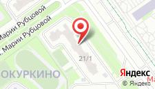 Апартаменты На Мельникова 21 на карте