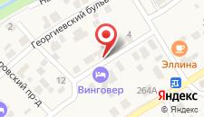 Гостевой дом На Учительской на карте