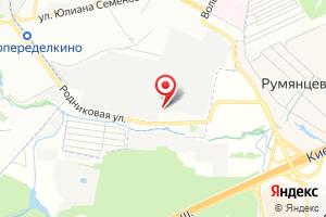 Адрес Мосводоканал Западная станция водоподготовки на карте