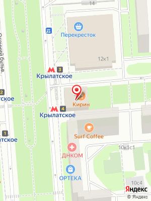 Кирин китайский ресторан на карте