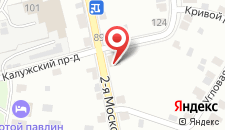 Гостиница Постоялый Двор Русь на карте