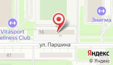 Отель Север-Сити на карте