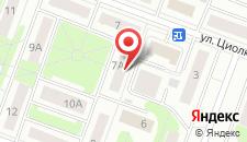 Апартаменты КакДома-SVO Студио на карте