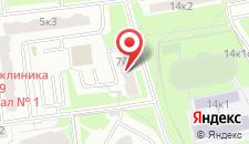 Гостиница Рациональ Кутузовский на карте