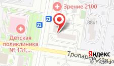 Хостел Хостелы Рус - Академика Анохина на карте