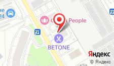 Апартаменты Apartment on Smolnaya 44/1 на карте