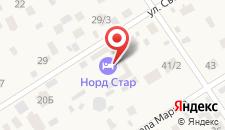 Гостиница Норд Стар на карте