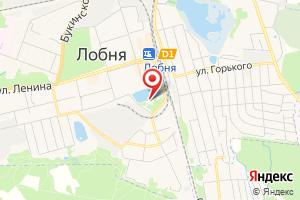 Адрес Лобненский пруд на карте