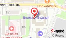 Отель Минима Водный на карте