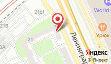 Хостел Вежливый лось на Войковской на карте
