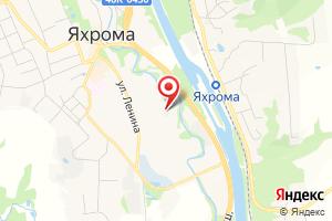 Адрес ЭКО-Жилком г. Яхрома на карте