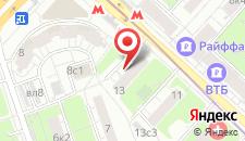 Апартаменты Apartment on Biryuzova 13 на карте