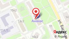 Отель Ананас на карте